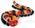 Baby Boo Caterpillar Large (Red/Black)