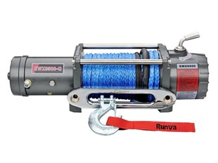RUNVA EWX9500QEVO 12V - with Synthetic Rope