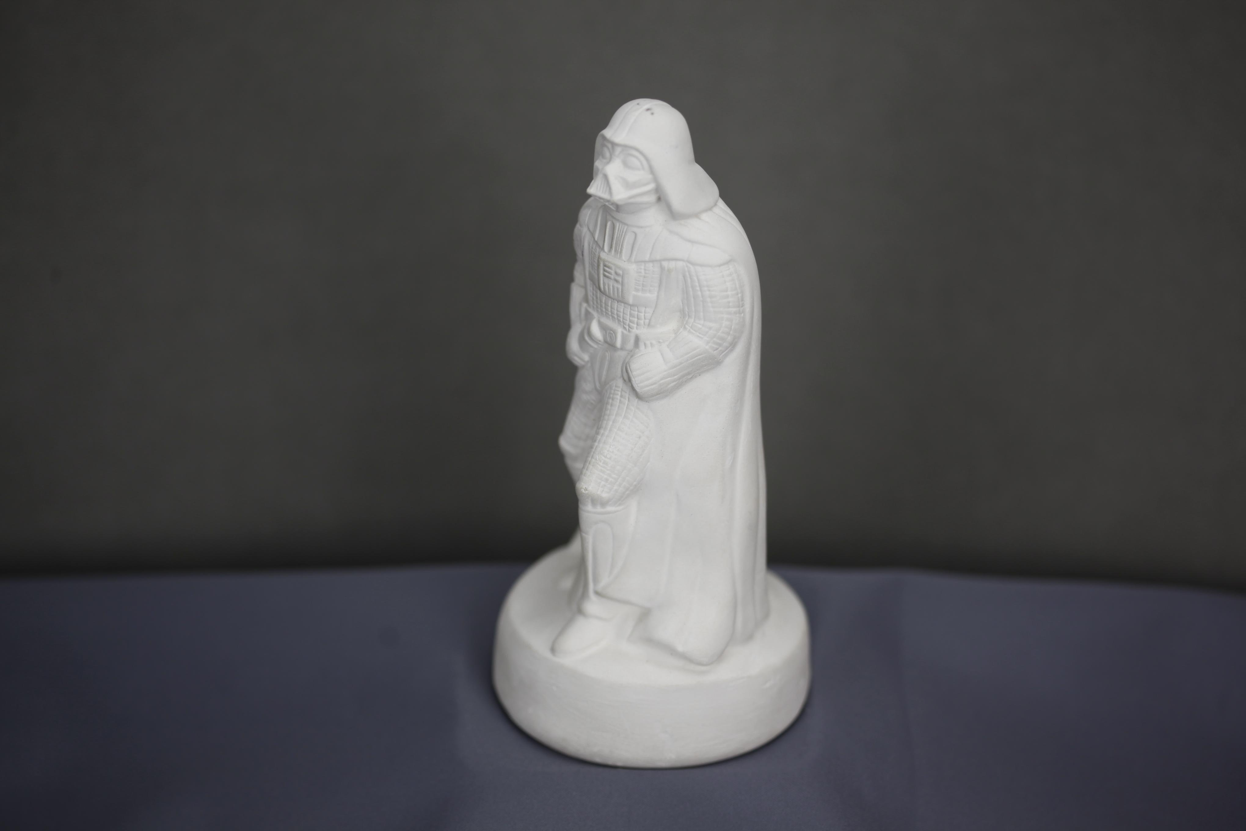 Moulded latex sculpute