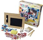 Glass Mosaic Picture Frame Kit