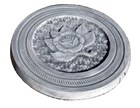 Rose Paver Round Mould/Stepping Stone 300x300x25mm CM 6047