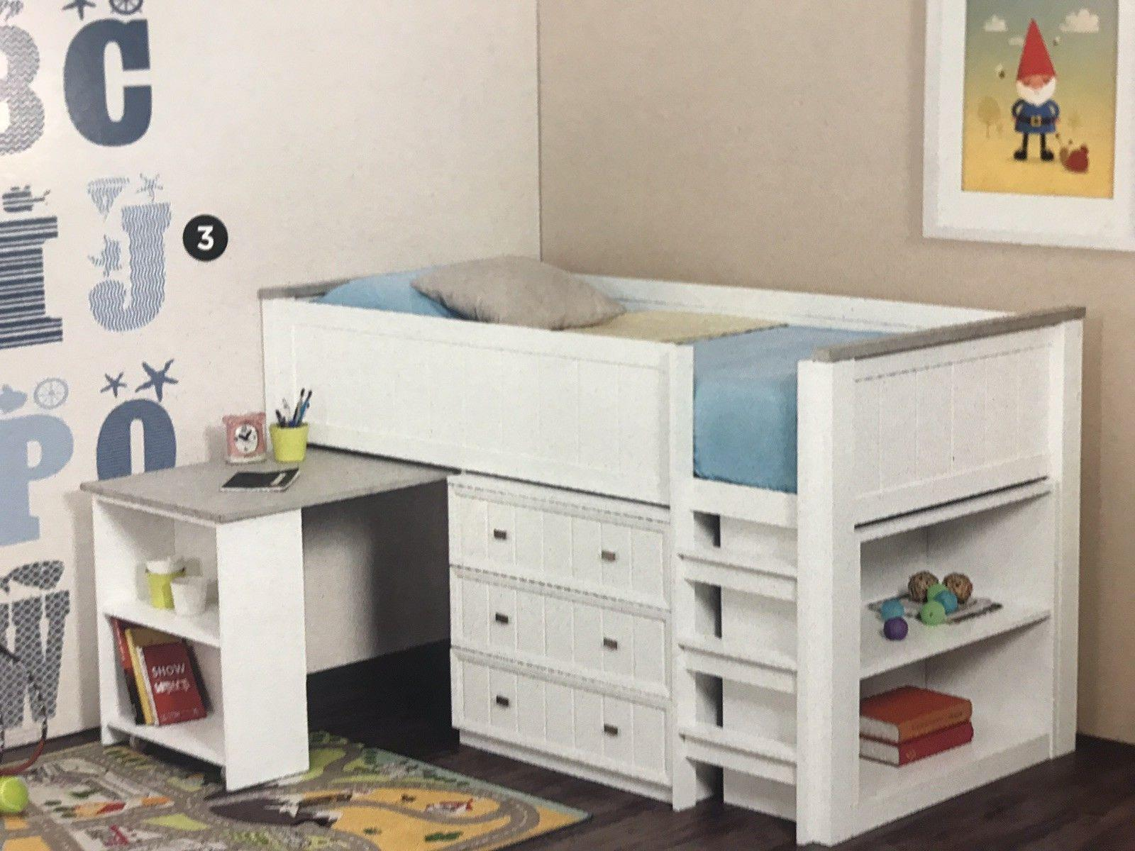 newest ee247 64e65 Mini sleeper KING single bed with desk ,storage NEW
