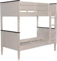 Bunk bed single SOLID white  HARDWOOD NEW