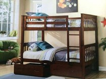 Bunk bed single  in a/oak or white  NEW