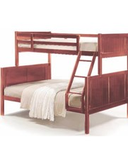Double single bunk bed Hardwood NEW IN BOX CLEARANCE