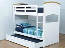 Bunk bed King single with King single TRUNDLE BED SOLID NEW