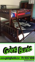 Double single bunk with loads of head storage NEW