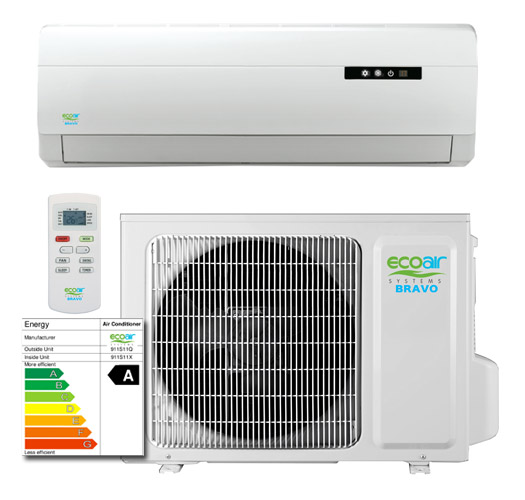 Eco Air Eco1811s 5 2kw 18000btu Bravo Range 4m Easy