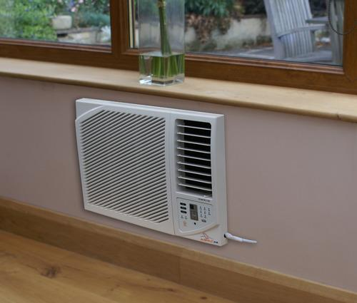 Wall Mounted Heating And Cooling Units : Ambientair btu through wall air conditioning unit